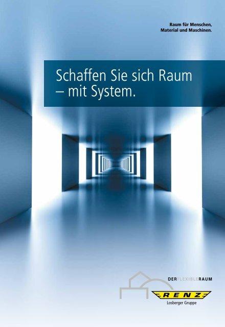 Renz Container und Hallenbau GmbH Gesamtkatalog 2017