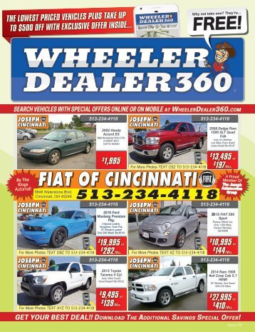 Wheeler Dealer Issue 36, 2017