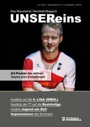 UnserEins - Ausgabe 1 Saison 2017-18