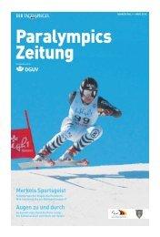 Paralympics Zeitung - Deutsche Gesetzliche Unfallversicherung