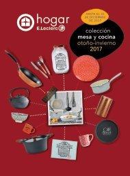 Catálogo E.Leclerc hogar, Colección menaje otoño-invierno