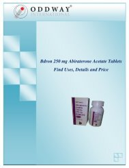 Bdron 250 mg Abiraterone Tablets Price India   Abiraterone 250mg Tablets Wholesaler