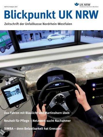 Blickpunkt UK NRW -  Unfallkasse NRW
