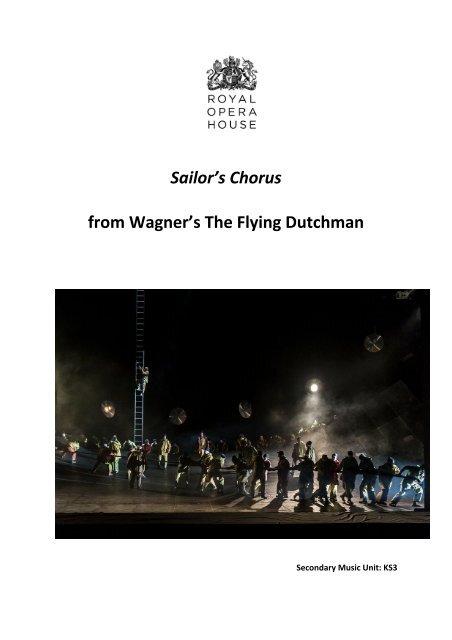 Flying Dutchman Teacher Resource Pack