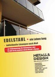 Metall & Design - EDELSTAHL
