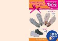 Happy Schuh - 20 Jahre Jubiläumsverkauf