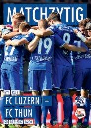 FC LUZERN MATCHZYTIG N°4 1718 (RSL 7)