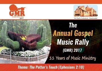 Gospel Music Rally 2017 - Program Booklet