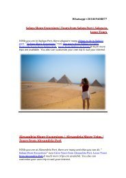 Safaga shore Excursions | Egypt Shore Excursions | Tours from Safaga to Luxor