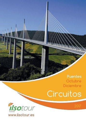 Catalogo circuitos autocar Puente Pilar y Puente Diciembre 2017