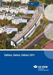 Zahlen, Daten, Fakten 2011 - Unfallkasse NRW