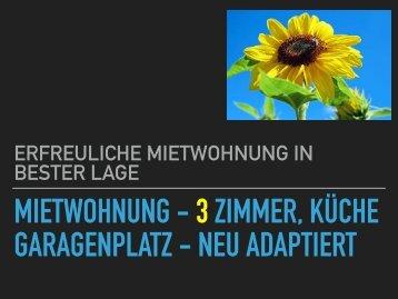 1130      Wohnen in Hietzing - __einfach rundherum schön  ____Adaptierte runderneuerte Wohnung inkl. Garagenplatz  __U4-Nähe