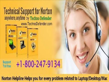 Free Norton Support +1-800-247-9134