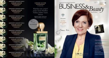 Oriflame Magazyn dla Konsultantek Business & Beauty Katalog nr 13 2017