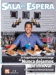 Revista Sala de Espera Panamá, Nro 86. Septiembre / Octubre