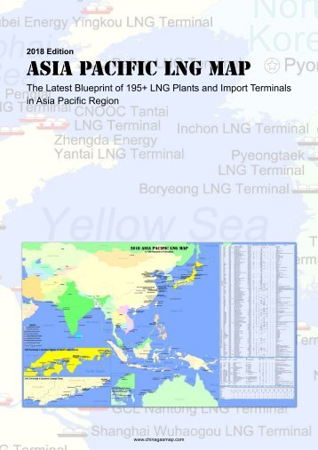 2018 Asia Pacific LNG Map Brochure Cover