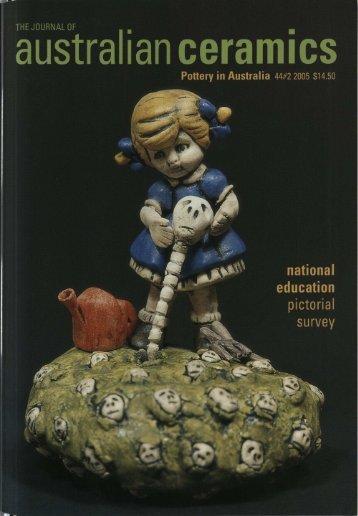 The Journal of Australian Ceramics Vol 44 No 2 July 2005