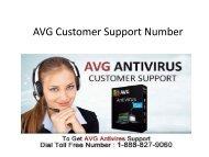 AVG Customer Support Number