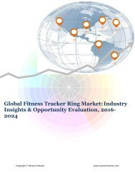 Global Fitness Tracker Ring Market (2016-2024)- Research Nester