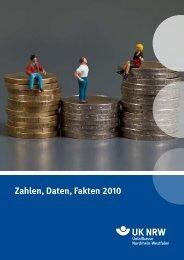 Zahlen, Daten, Fakten 2010 - Unfallkasse NRW