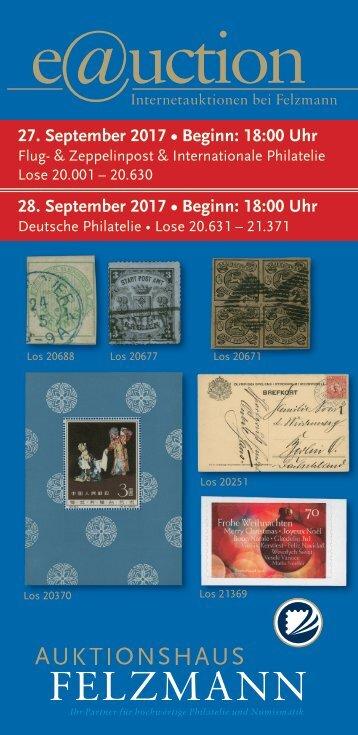 Auktionshaus Felzmann - Auktion-1016 - Philatelie