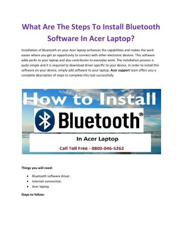 Acer Helpline Number UK