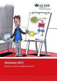 Seminare 2013 - Unfallkasse NRW