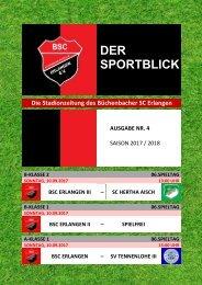 Sportblick 04  BSC - SVTIII