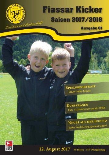 FCF - Obergünzburg Stadionzeitung