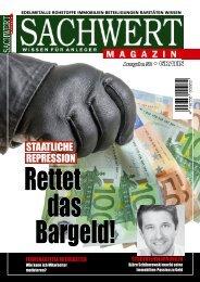 Sachwert Magazin, Ausgabe 58/August 2017