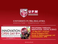 UPMIOD Social Science Innovation