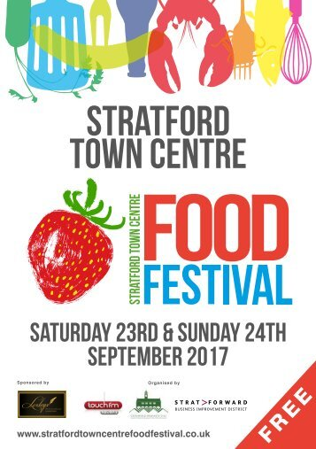 Stratford Food festival brochure 2017 Final Sept