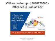 Office.com/setup - 18888279060 - office setup Product Key