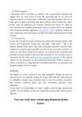 How to Prepare for an App Demonstration - Page 4