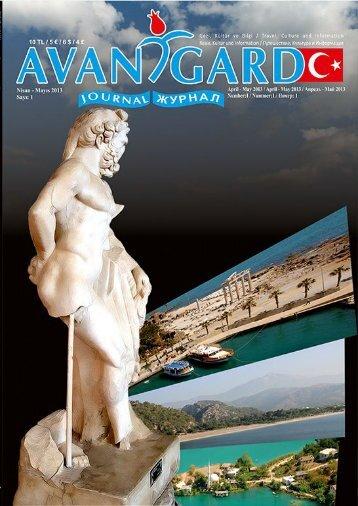 Avantgarde Türkiye Gezi ve Kültür Dergisi Sayı 1 (4 Dilde)