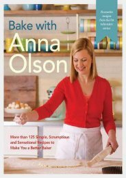 ePub Download Bake with Anna Olson: More than 125 Simple, Scrumptious and Sensational Recipes to Make You a Better Baker Full Books