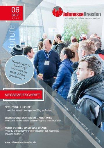 Jobmesse Zeitschrift Dresden - Herbst 2017