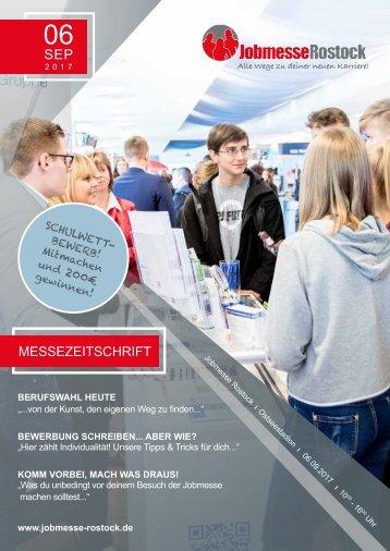 Jobmesse Zeitschrift Rostock Herbst2017