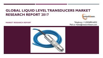 Global Liquid Level transducers Market Research Report 2017
