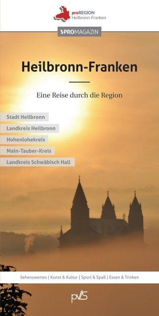 Pocketführer Heilbronn-Franken: Eine Reise durch die Region