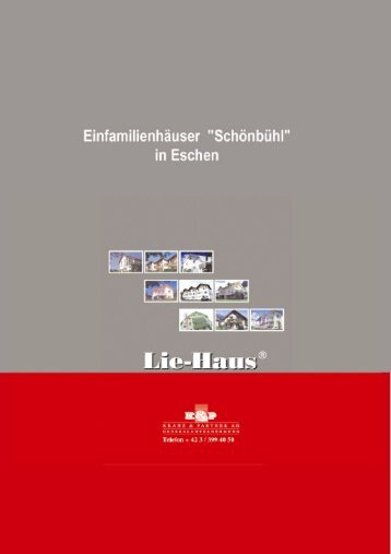 Inhaltsverzeichnis - Lie-Haus