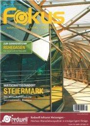 Bericht im FOKUS - Juni/Juli Ausgabe 2012 - Redwell