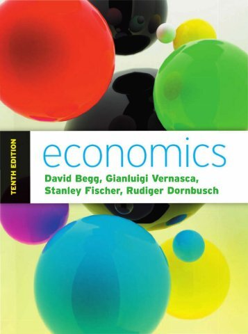 David K.H. Begg, Gianluigi Vernasca-Economics-McGraw Hill Higher Education (2011)