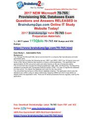 (2017-September-Version)New 70-765 PDF and 70-765 VCE Dumps 115Q&As Free Share!(24-31)