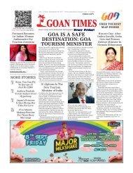 GoanTimes September 8th 2017 Edition