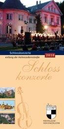 Schloss konzerte - Toubiz