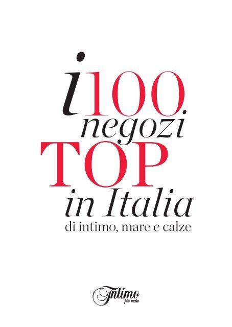 Calze E 100 Italia Top Di IntimoMare Negozi In I nk80wONXP