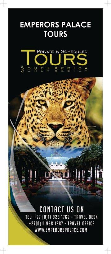 Unicab Tour Brochure 18 page singles