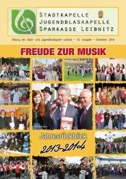Stadtkapelle Leibnitz 2013 - 2014