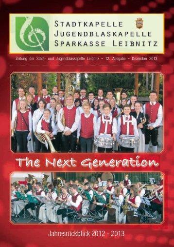 Stadtkapelle Leibnitz 2012 - 2013